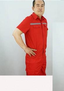 防静电中石化中石油半袖工作服 加油站加气站工服