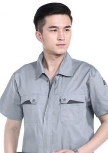 夏季工作服短袖加油站防静电工作服