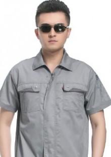 工程服装夏季防静电工作服男士短袖夏季工作制服