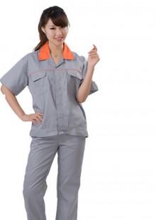 短袖上衣劳保服汽修工装工程服男女透气性好