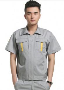 工服男夏装短袖工作服工程服工装维修半袖车间工作服