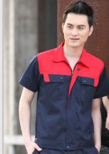 夏季短袖工作服套装男半袖工作服工程服