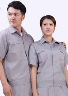 夏装工程服装夏季汽修工作服男士短袖夏季工作制服透气定制