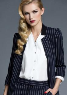 职业装女裤套装女士西服正装修身西装
