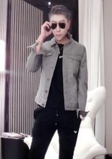 百搭修身短款韩版牛仔夹克外套