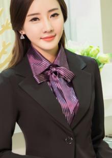 秋冬女长袖前台收银领班经理制服西餐厅ktv工装