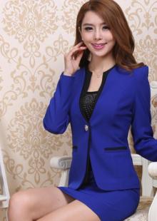 2014夏季酒店工作服女长袖领班