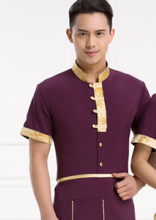 饭店传菜生服装短袖制服