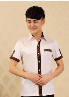 饭店传菜生服装短袖