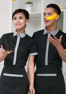 酒店西餐厅餐饮服务员制服