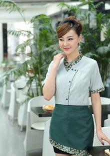 中餐厅餐饮服务员制服