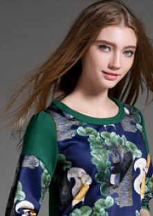 2015夏装新款韩版百搭显瘦雪纺上衣纯色娃娃领雪纺衫