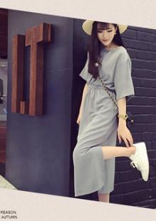 蘑菇街爱逛街韩国夏季连衣裙