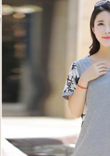 2015韩版棉麻上衣女夏宽松显瘦短袖t恤