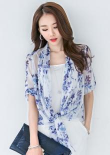 2015夏装新款花色空调开衫