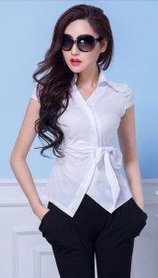 职业装女装衬衫短袖订制公司