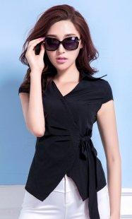 职业装女性衬衫短袖定制公司