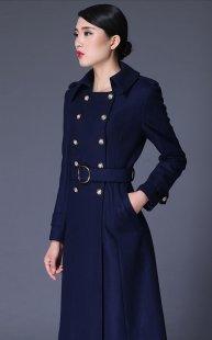 订做职业装大衣女性公司