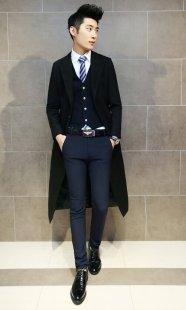 男性职业装大衣订制