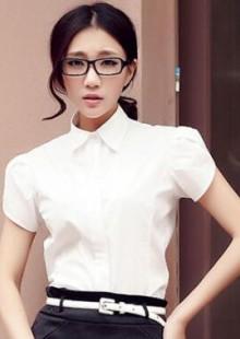 夏教师职业女裙短袖衬衫西装裙