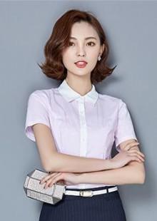职业装套装套裙短袖衬衫夏季气质时尚正装