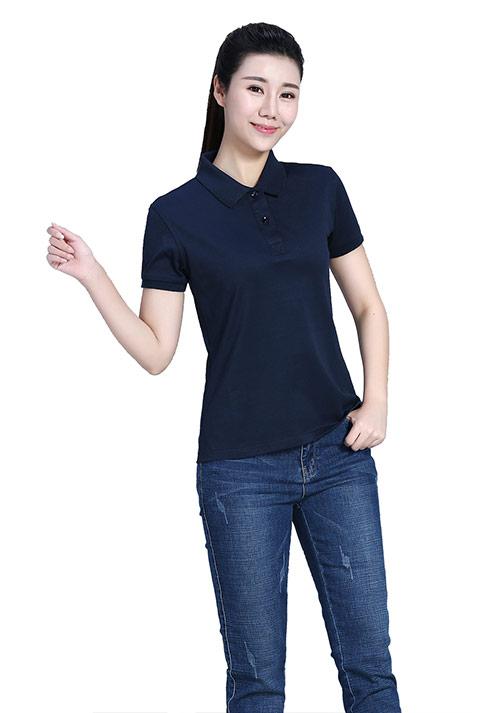 藏蓝T恤定制