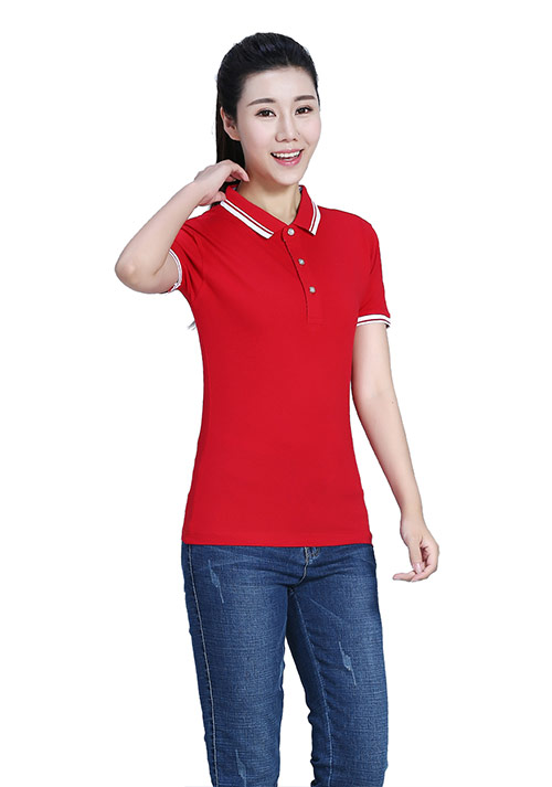 红色T恤定制