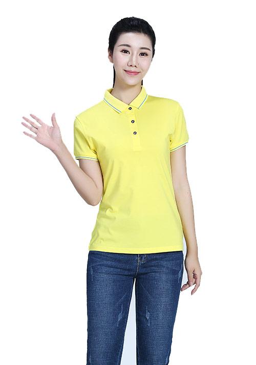 黄色T恤定做
