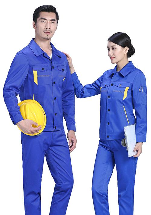 蓝色铁路工程服定制